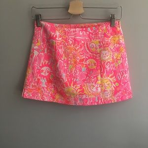 Lilly Pulitzer January Skort in Pink Pout #330
